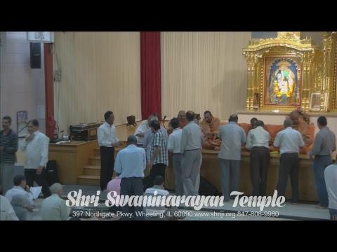 Sunday Sabha Swaminarayan Temple, Wheeling, IL 08/06/2017