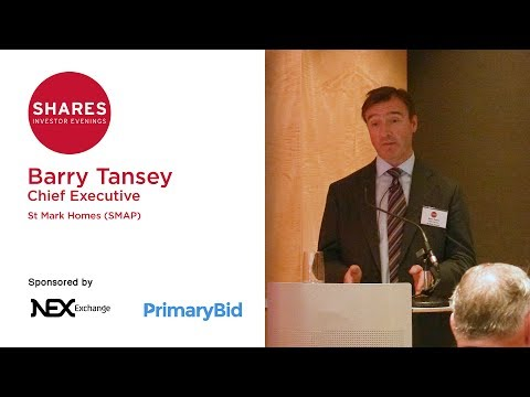 Barry Tansey, Chief Executive of St Mark Homes (SMAP)