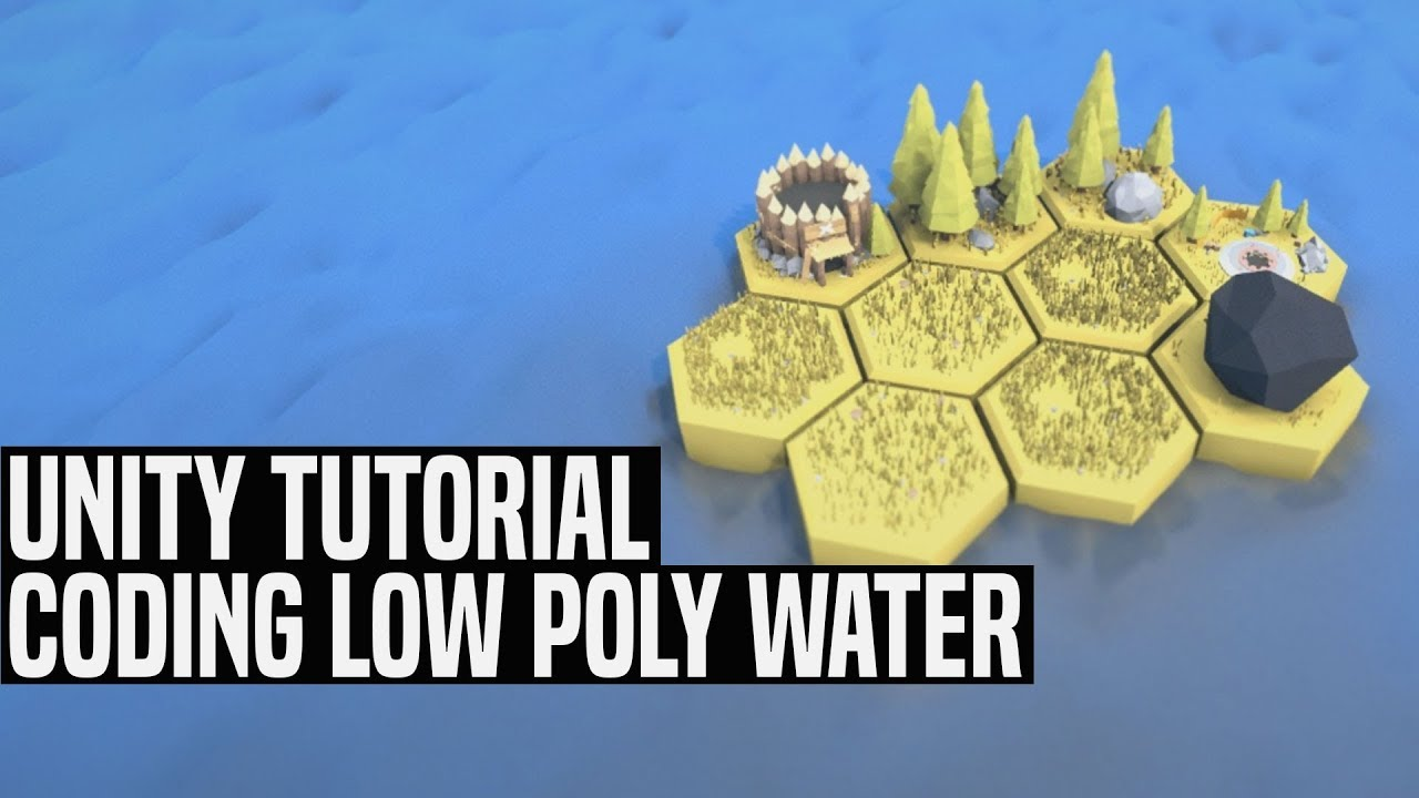 [Unity Tutorial] How to Make Low Poly Water