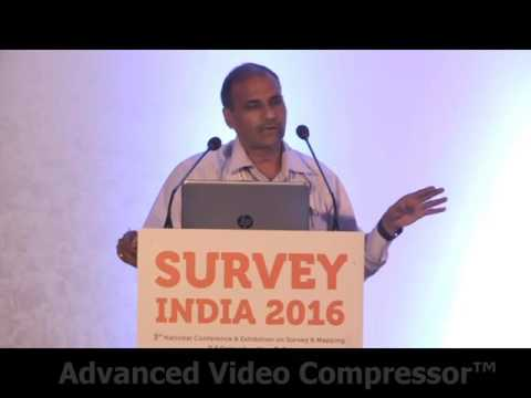 Shri Hukum Singh Meena, IAS, Joint Secretary, DoLR @ Survey India 2016