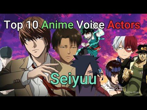 Top Ten Male Anime Voice Actors
