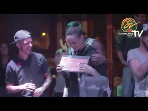 The Australian Bar Montpellier   Flair Contest 2015