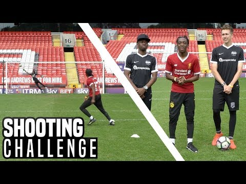 SHOOTING PRACTICE FOR THE SIDEMEN CHARITY MATCH!