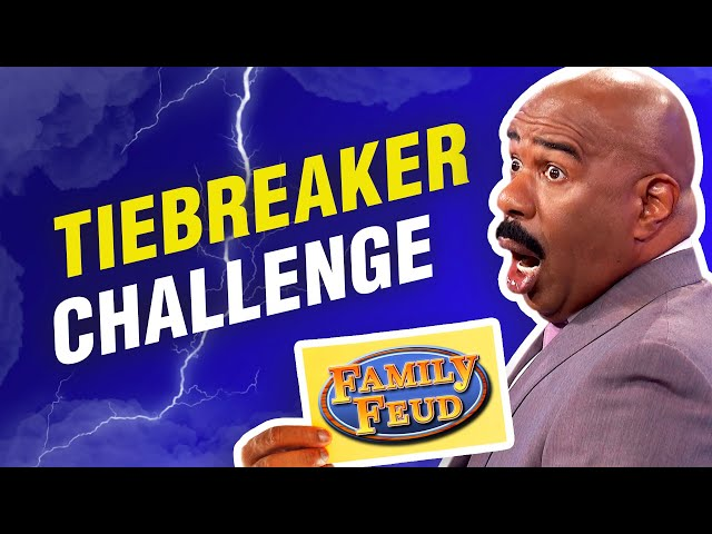Test your Family Feud skills with these 100 tie-breaking questions! Make Steve Harvey proud!