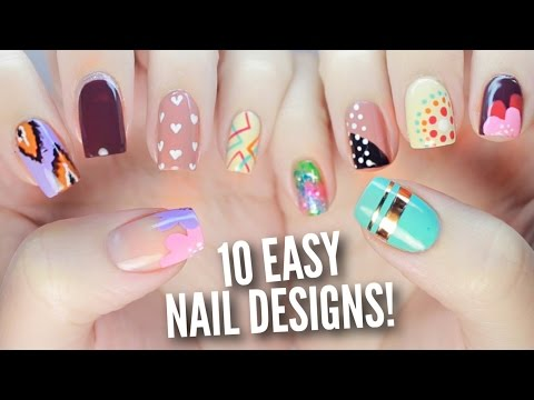 10 Easy Nail Art Designs for Beginners: The Ultimate Guide #2!