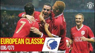 Euro Classic (06/07) | Scholes, O'Shea & Richardson on target! | Manchester United 3-0 FC Copenhagen