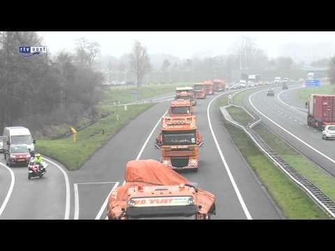 Konvooi wrakstukken MH17