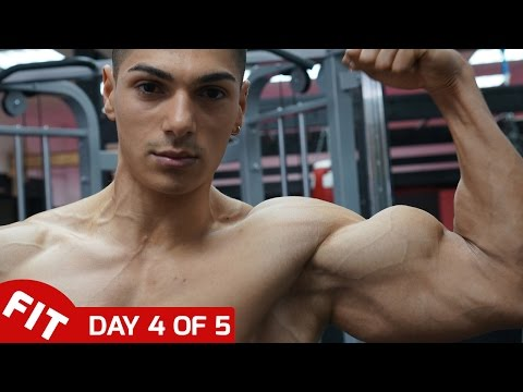 ANDREI DEIU MASSIVE ARMS - DAY 4 of 5