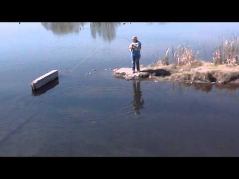 Fishing Rocky Ford Creek, Wa.