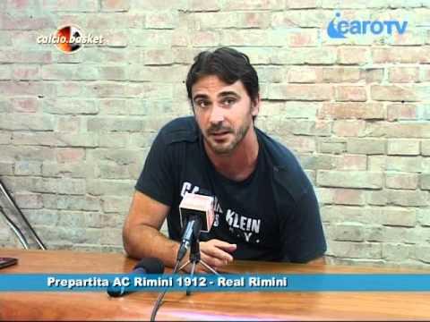 Icaro TV. Verso AC Rimini 1912-Real Rimini, il pregara di Luca D'Angelo