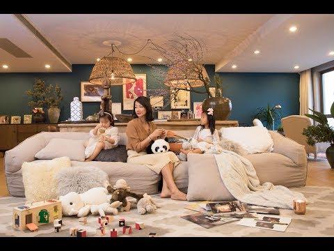 单亲妈妈带2个女儿住370㎡豪宅,母亲越独立,孩子越幸福