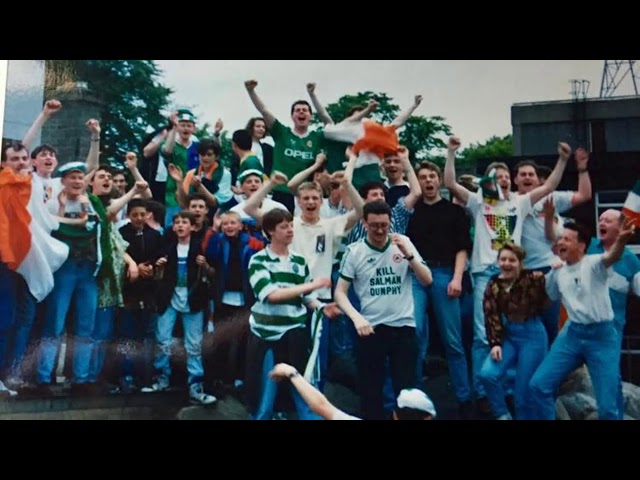 ITALIA90 - 25th June 1990 - Dundalk, Co. Louth, Ireland