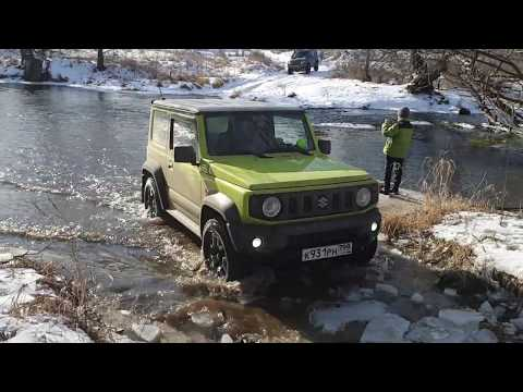 Suzuki Jimny (new) супротив УАЗ (Хантер) или путешествие вдоль р. Осётр!