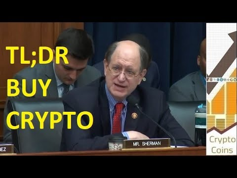 The Best Advertisement for Cryptocurrency in History by Rep. Brad Sherman