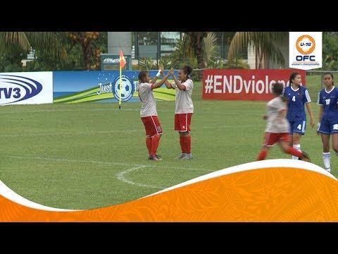 OFC U-16 WOMEN'S CHAMPIONSHIP   Samoa v New Caledonia Highlights