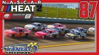 INTENSE FINAL RESTART |Xfinity Playoff Race 4/7| NASCAR Heat 2 Career Mode S3. Episode 87