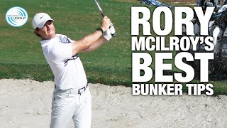 RORY MCILROY - MY BEST BUNKER TIPS | ME AND MY GOLF