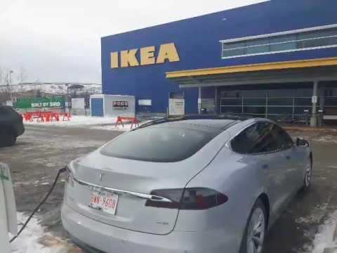 #11 Tesla Model S at IKEA charging station (Calgary, AB)