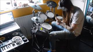 Video Rudimental Right Here ft. Anne-Marie Andy C remix drum cover download MP3, MP4, WEBM, AVI, FLV April 2018