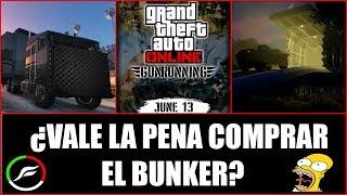 GTA 5 ¿VALE LA PENA COMPRAR EL BUNKER? - GTA V DLC TRAFICO DE ARMAS