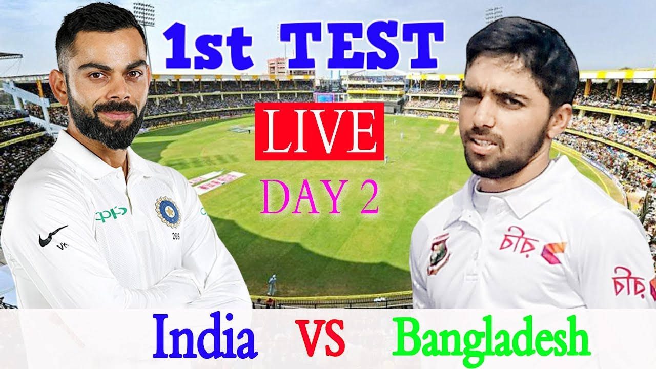 India vs Bangladesh Live Score 1st Test Day 2: Mayank hundred ...