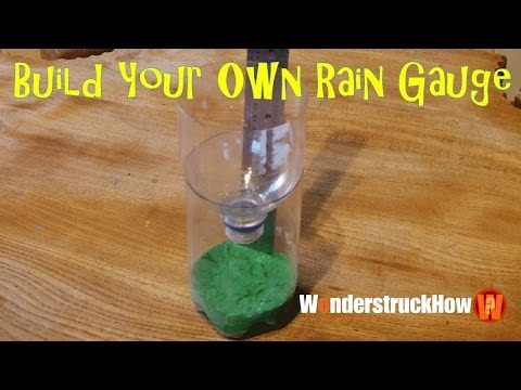 Build Your Own Weather Station Part 1 - A Rain Gauge