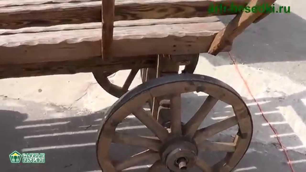 Как сделать деревянную телегу фото 502