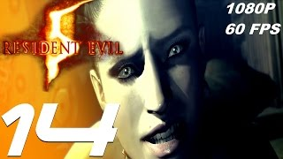 Resident Evil 5 - Walkthrough Part 14 - Excella Boss Fight [1080p 60fps]