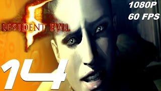 Resident Evil 5 - Walkthrough Part 14 - Excella Boss Fight [1080p 60fps]