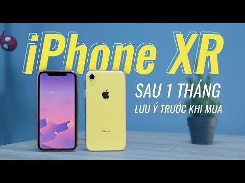 iPhone XR sau 1 tháng sử dụng - Không hề tệ!