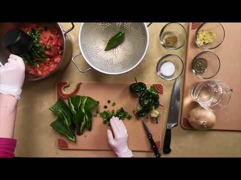 How To Make Tomato And Green Chili Salsa