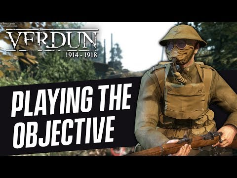 CHALLENGES! | Verdun Gameplay (Playing the Objective)