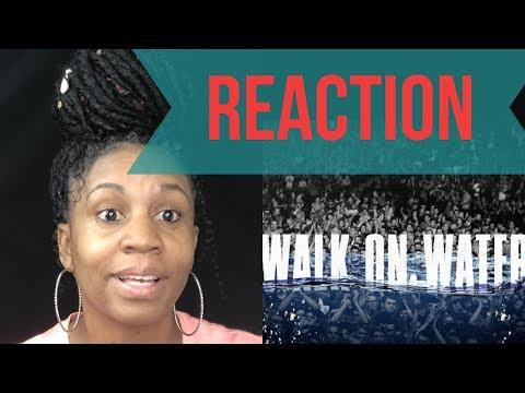 Eminem Ft. Beyonce-Walk On Water (Audio)   REACTION