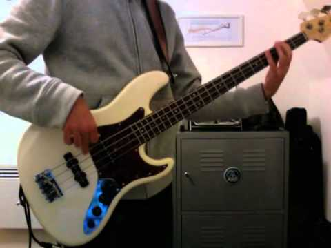 Stealers Wheel: Stuck In The Middle With You, bass cover, Fender Jazz Deluxe USA