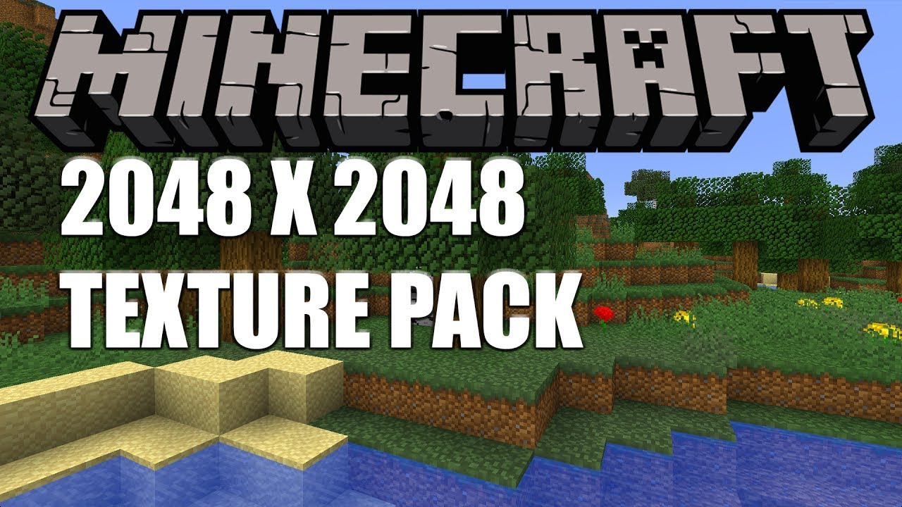 2048 X 2048 Texture Resource Pack Youtube