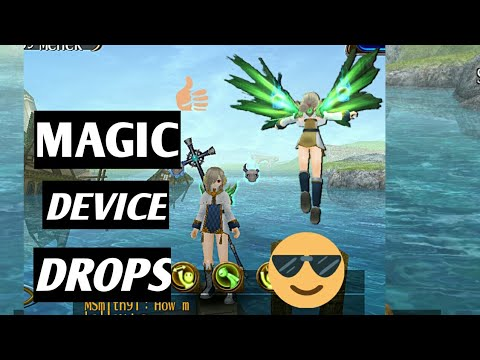 RPG toram online | Some magic device drops by Maihara Miya