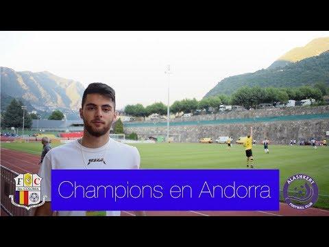 La CHAMPIONS en Andorra, un día inolvidable | Rafael Escrig