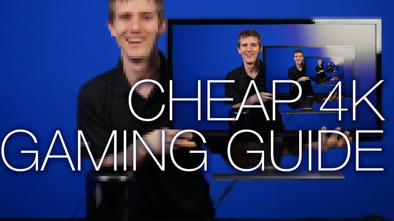 """4K Gaming Primer ft. Samsung U28D590D 28"""" 4K Monitor"""