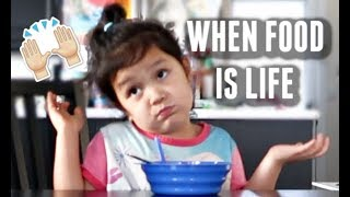 WHEN FOOD IS LIFE! -  ItsJudysLife Vlogs