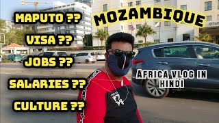 Maputo mozambique Africa visa job salary safe?? 😲|Mozambique's Capital MAPUTO|Mozambique Country