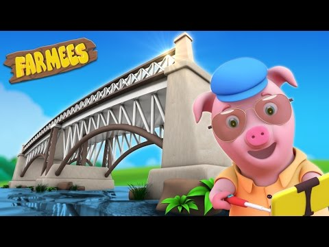 London Bridge Is Falling Down | Nursery Rhymes Videos | Childrens Songs by Farmees