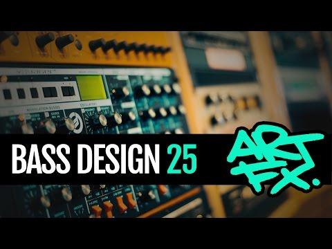 Bass Design 25: Squelchy Neuro pitchbend bass