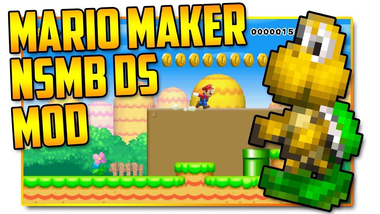 New Super Mario Bros  DS - Super Mario Maker Mod