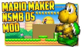 New Super Mario Bros. DS - Super Mario Maker Mod
