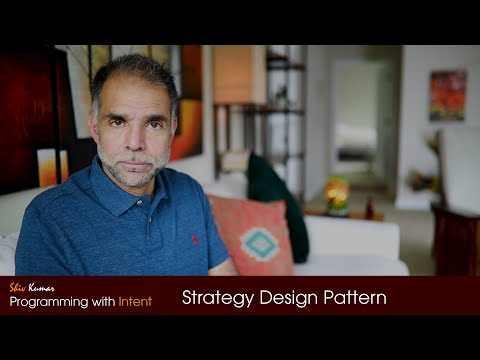 Strategy Design Pattern from YouTube · Duration:  35 minutes 8 seconds