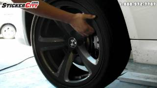 BMW Wheel 3M Di noc Carbon Fiber Wrap
