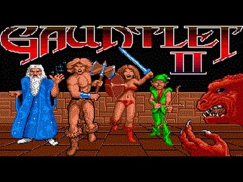 Classic Arcade Game Gauntlet Ii On Ps3 In Hd 1080p Youtube