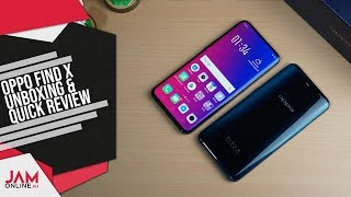 OPPO Find X Unboxing and Quick Review