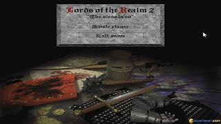 Lords of the Realm: Royal Edition gameplay (PC Game, 1997)