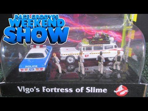 RGWS Johnny Lightning Ghostbusters Diorama and Hidden Treasure Hunt November 5, 2017 #askracegrooves